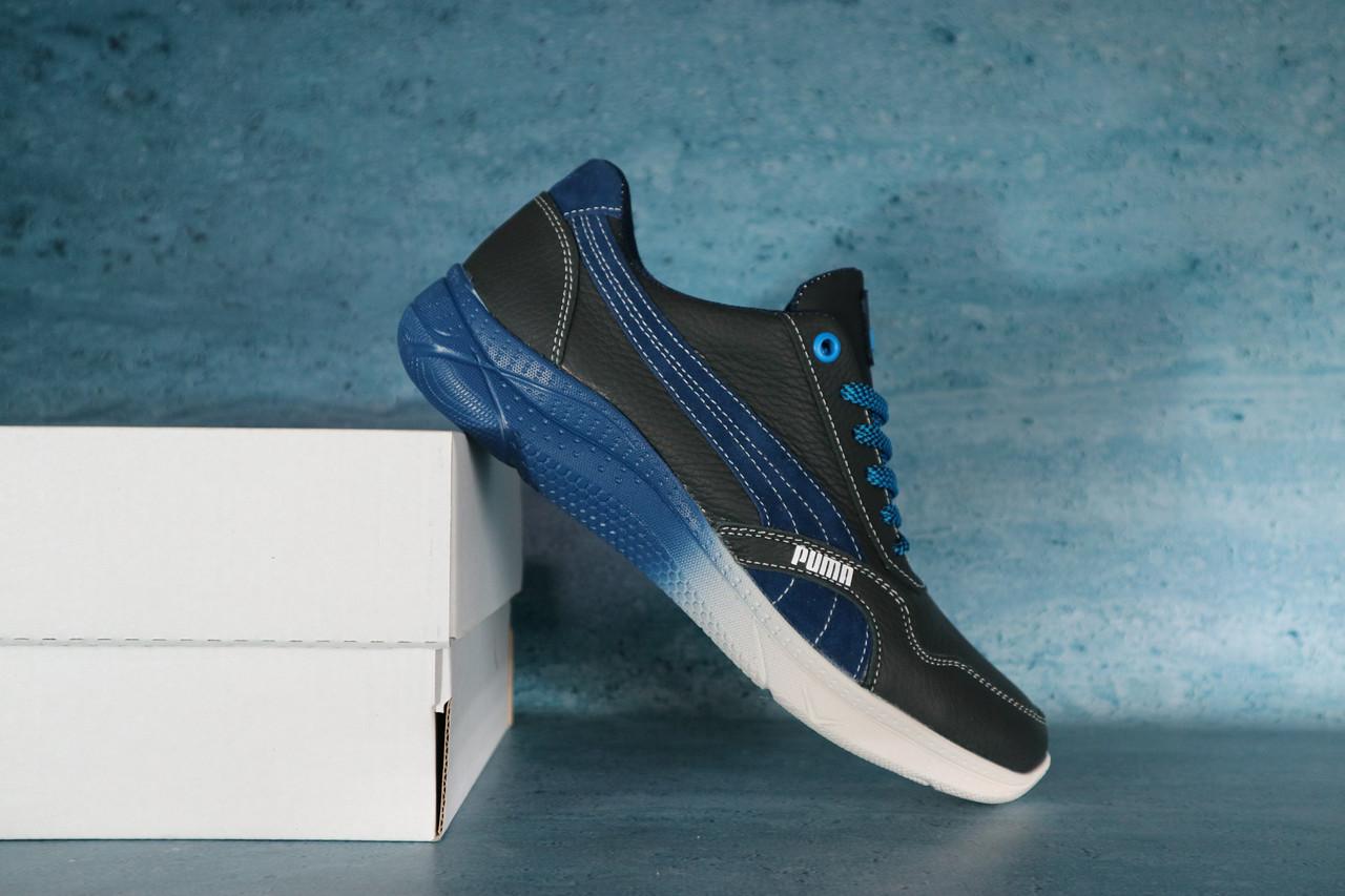 Мужские кроссовки Puma 10721 Черный/Синий