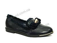Женские синие  туфли  Purlina (размеры 36 - 41)