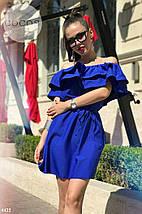 Платье летнее с воланами на плечи, фото 3