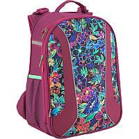 Рюкзак школьный каркасный 703 Flowery K18-703M-2