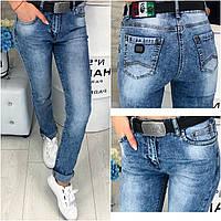 3780-6 Pealtia (28-33, полубатал, 6 ед.) джинсы женские летние стрейчевые, фото 1