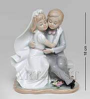 Фарфоровая статуэтка Жених и невеста Pavone JP-15/45