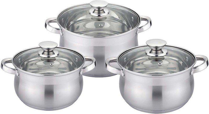 Набір посуду 6 предметів Maxmark MK-BL2506B