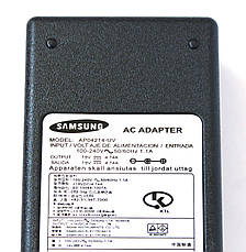 Блок питания для ноутбука Samsung 19V 90W 4.74A (5.0*3.0 mm), фото 2