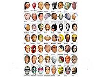 Оригинал! Латексные маски на Хеллоуин и Новый год Оптом От производителя!, фото 1