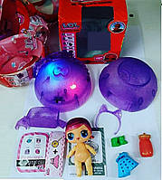 Светящийся шар Lol, кукла Лол с сюрпризом