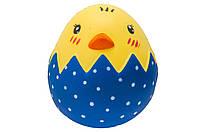 """Сквиш """"Цыпленок в яйце"""" 10*9*9 см"""