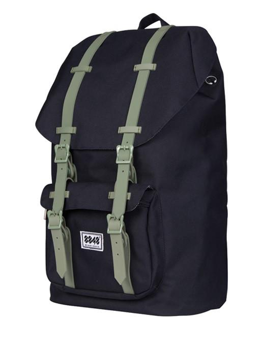 Крутой повседневный рюкзак для ноутбука издолговечного материала прочностью в 500D