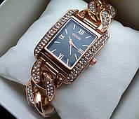 Часы женские Guess red gold 331