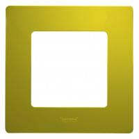 672541 Рамка на 1 пост, зелена папороть Legrand Etika