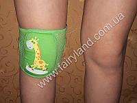 Детские наколенники на липучке с мягкой подушечкой