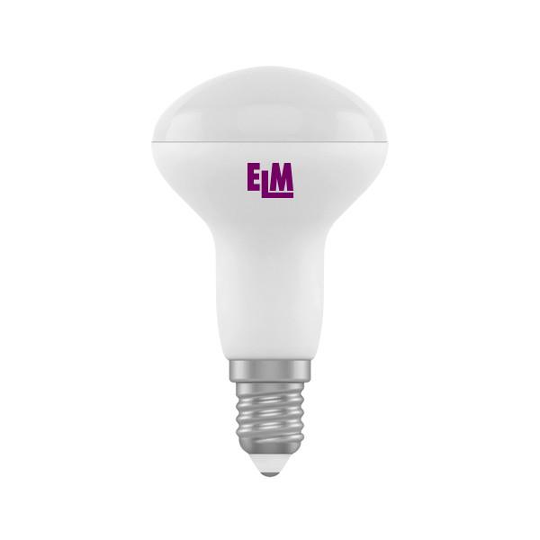 LED лампа светодиодная ELM R50 PA-10 5W, 3000K (мягкий свет), 220V, цо