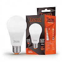 LED лампа светодиодная E27, 11W, 4000K, A60, Tecro, 1050 lm, 220V (PRO-A60-11W-4K-E27), энергосберегающая эконом лед лампа