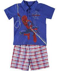 Костюм двойка футболка и шорты Spider-Man (Размер 2Т) The Amazing (США)