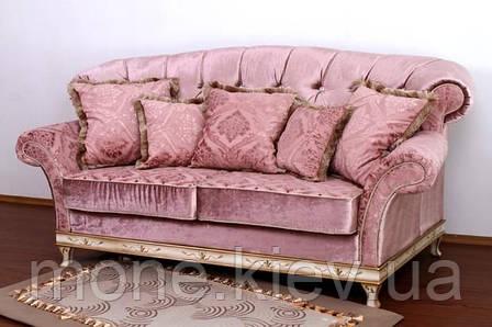 """Диван трехместный классический с подушками """"Рамзес"""" раскладной, фото 2"""