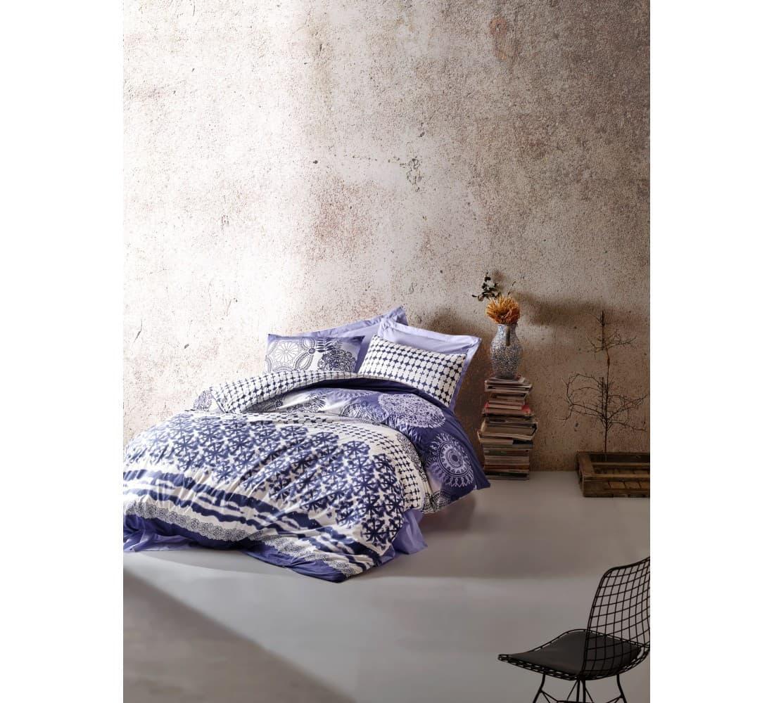 Постельное белье Cotton Box MODE LİNE LUCCA двуспальный - евро