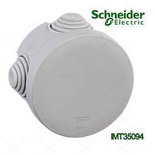 Коробка распределительная Schneider Electric 80x40 круглая 4 введения для открытого монтажа IP55