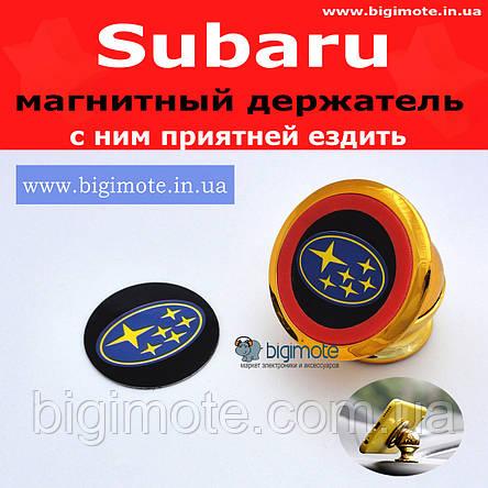 SUBARU. Качественный магнитный держатель для телефона,bigimote, фото 2