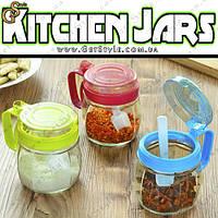 "Кухонная бутылочка - ""Kitchen Jars"" - 1 шт. + ложка 5 гр., фото 1"
