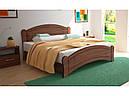 Ліжко двоспальне з ДСП/МДФ в спальню Паланія 160х200 з пружинним підйомним механізмом Неман, фото 5