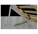 Ліжко двоспальне з ДСП/МДФ в спальню Паланія 160х200 з пружинним підйомним механізмом Неман, фото 3