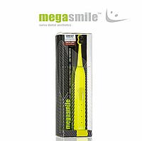 "Звуковая гидроактивная зубная щетка Megasmile ""Блек Вайтенинг ІІ"", electric yellow"