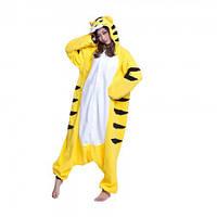 Кигуруми Тигр желтый L