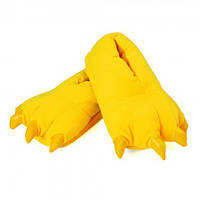 Тапочки кигуруми желтые S