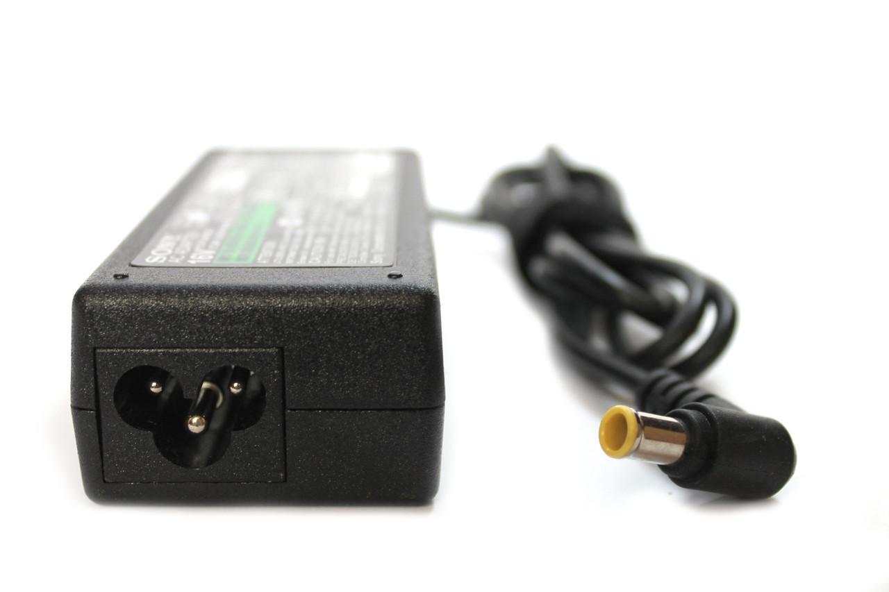 Блок питания для ноутбука Sony 16V 4A (6.0*4.4) + Сетевой кабель