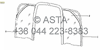 Доска (опция) на YTO X704