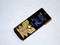 Телефон Nokia 7900 Prism Золотой - 2Sim - Метал.корпус - Fm - Bt - Cam