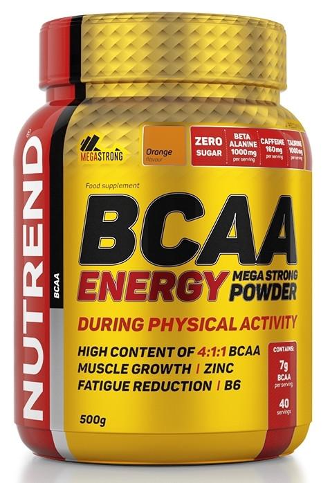 Nutrend Energy BCAA mega strong powder 500g