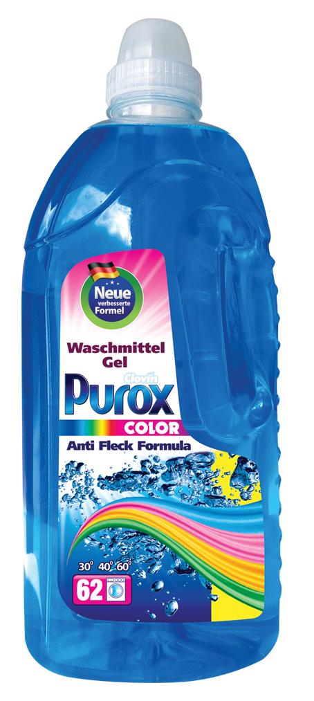 Гель для стирки цветных тканей Purox color  3100мл (Пурокс)