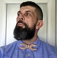 Стильный галстук-бабочка из дерева