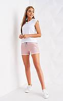 Стильные женские шорты с завязками