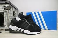Кроссовки мужские Adidas Equipment Black\White 105730, фото 1
