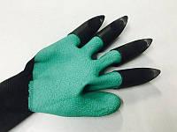 Перчатки садовые с наконечниками garden genie gloves ( перчатки рабочие )
