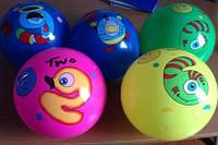 """Мяч 9"""" BT-PB-0063 с цифрами микс видов 70г сетка ш.к./300/(BT-PB-0063)"""