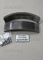 Накладки тормозных колодок  Днепр МТ с закепками