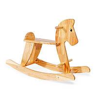 Деревянная качалка-каталка Лошадка Коричневая