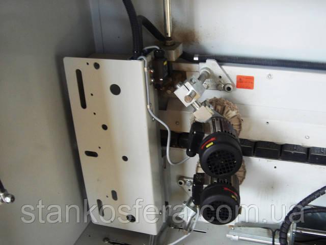 Кромкооблицовочный станок Holzher Sprint 1315: полировальный агрегат