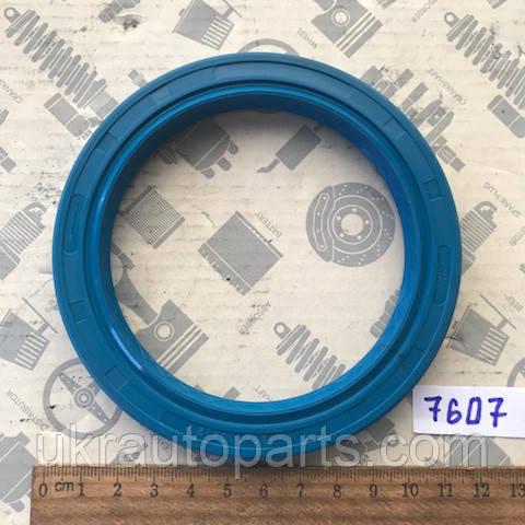 Сальник 85х110х12 ступица передняя ЗИЛ БЫЧОК, хвостовик МАЗ реверсный (NBR) (СИНИЙ) (2.2-85х110х12) (486504(NBR) (СИНИЙ))