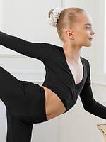 Болеро тренировочное для танцев, гимнастики, хореографии