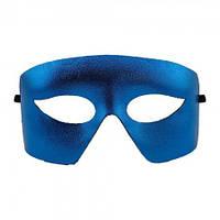 Венецианская маска Мистер Х синяя