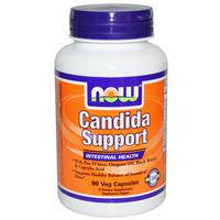 Кандида саппорт Candida Support 90 капс лечение кандидоза дисбактериоза кишечника NOW Foods