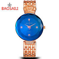 BAOSAILI Crown Blue, сапфир в огне, женские часы Baosaili, подарок для девушки