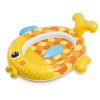 """Бассейн Intex детский """"Золотая рыбка"""" 140*124*34см (57111), для дачи, надувной, летний, для детей"""