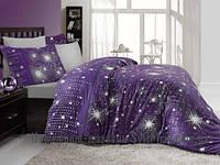 Комплект постельного белья ALtinbasak Saten stars двуспальный - евро