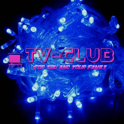 Светодиодная гирлянда 400 LED 15 метров МУЛЬТИ И СИНИЙ, фото 2