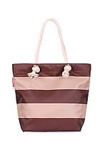 Пляжная сумка в полоску POOLPARTY